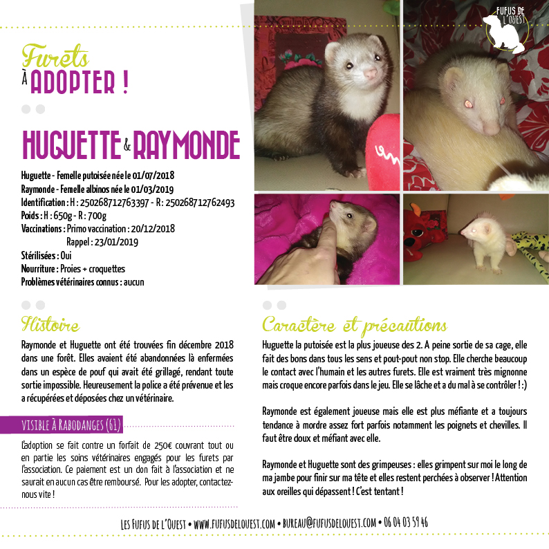 HUGUETTE & RAYMONDE