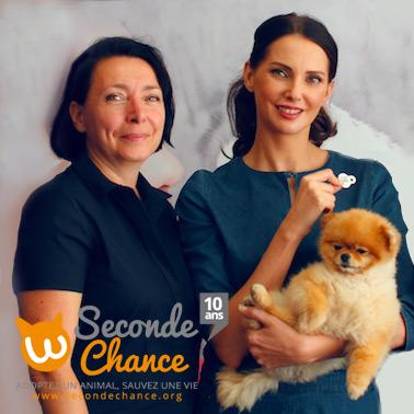 Frédérique Bel s'associe aux 10 ans de Seconde Chance