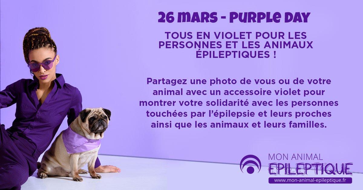 Tous en violet pour la journée de l'épilepsie