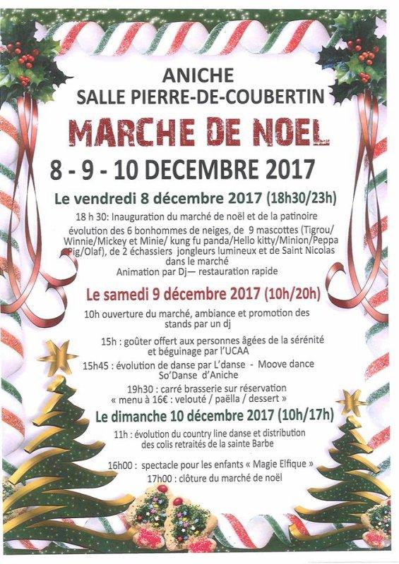 Marché de Noël d'Aniche 59580