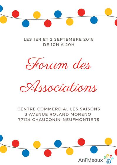 Forum des associations - Association Ani'Meaux