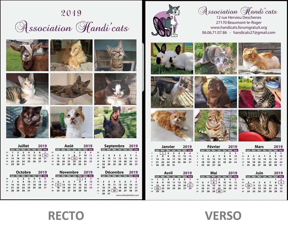 Vente calendriers