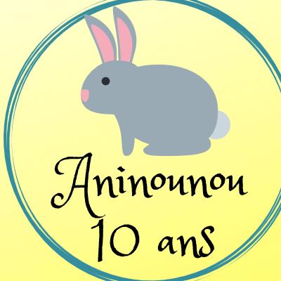 ANINOUNOU fête ses 10 ans : tombola spéciale anniversaire !