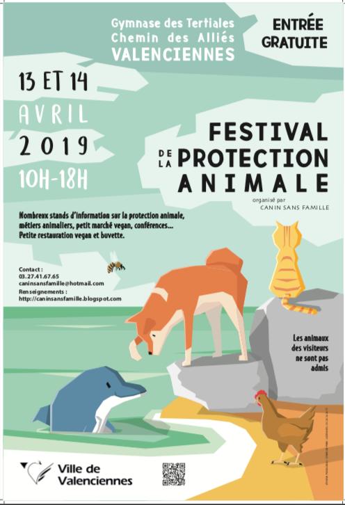 Festival de la protection animale ( Valenciennes ) 13&14 avril 2019