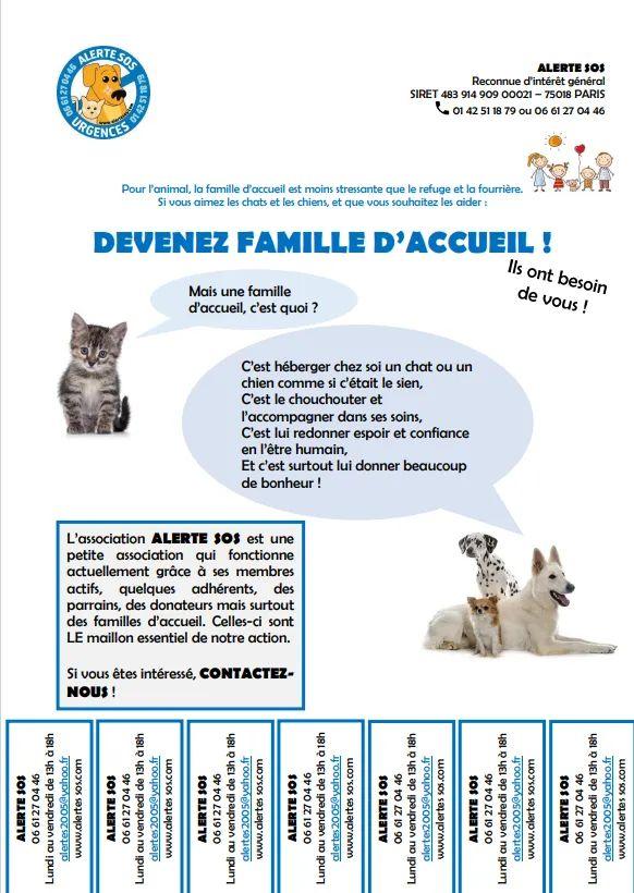 DEVENEZ FAMILLE D'ACCUEIL