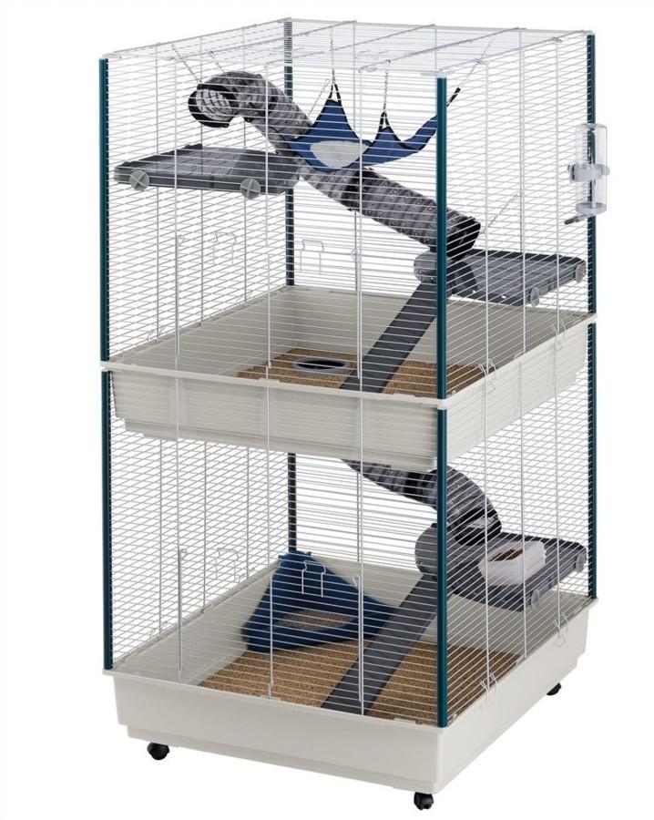 L 39 arriv e d 39 un animal la maison installer la cage de votre furet - Un furet pour deboucher ...